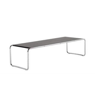 "49""w x 18""d Black Laminate Coffee Table TBL000911"