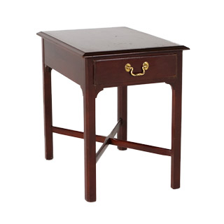 "18""w x 25""d Mahogany Side Table TBL001057"