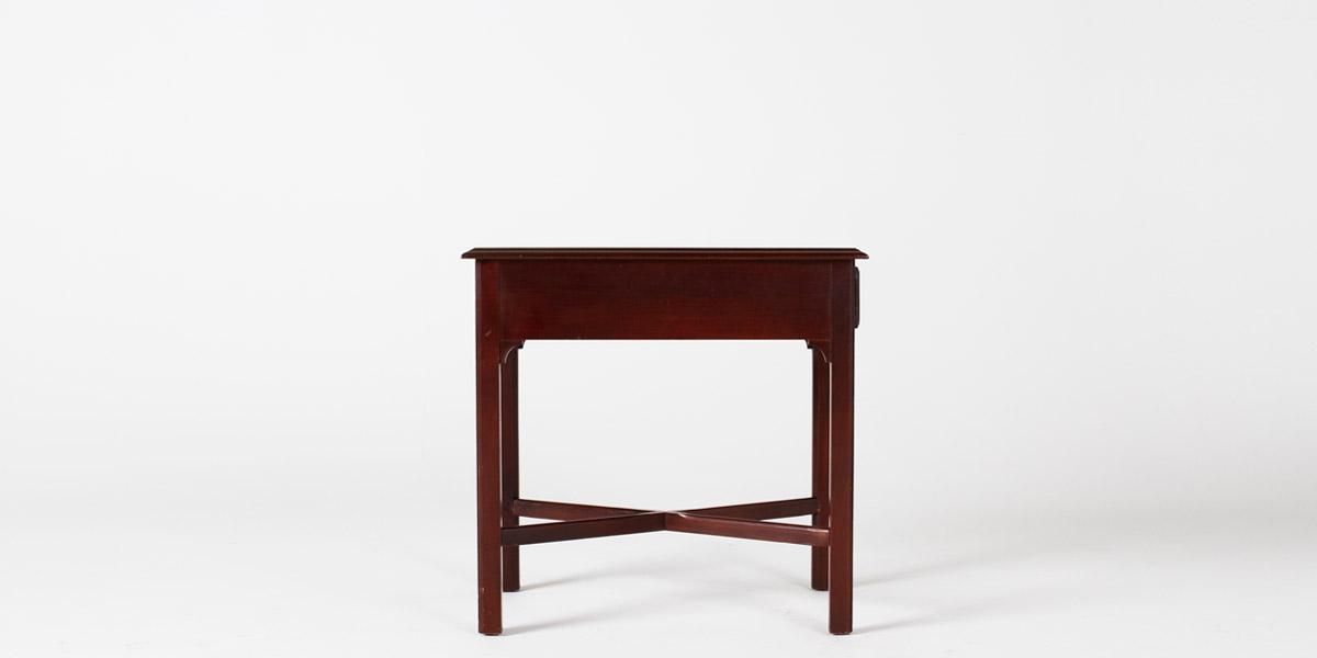 "18""w x 25""d Mahogany Side Table TBL001057"