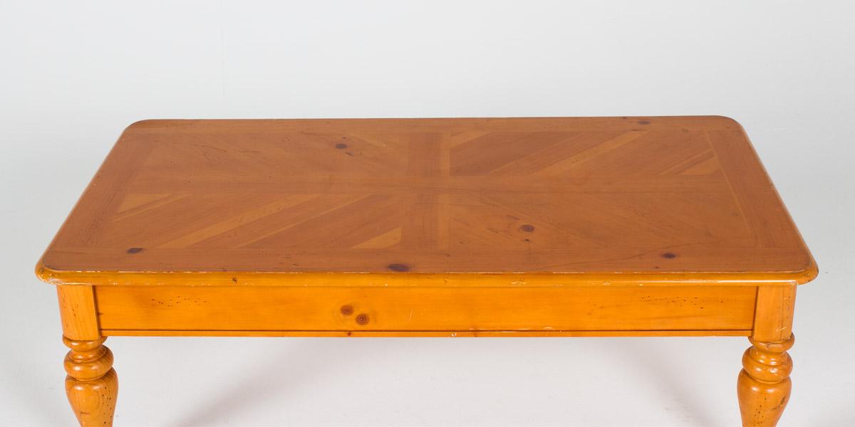 "48""w x 24""d Pine Coffee Table TBL002894"
