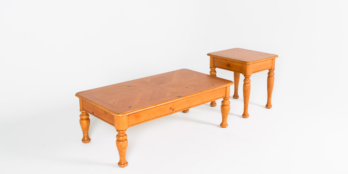 48 w x 24 d pine coffee table tbl002894 arenson office for W furniture rental brussels