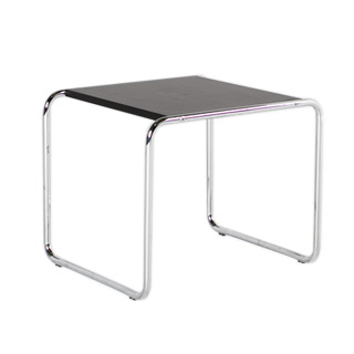 "22""w x 19""d Black Laminate Side Table TBL004856"