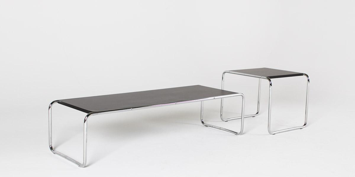 "22""w x 19""d Black Laminate Side Table TBL004856"
