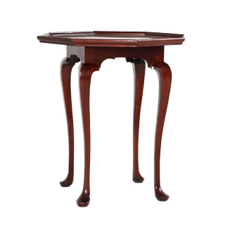 "26""w x 26""d Mahogany Traditional Side Table TBL009324"