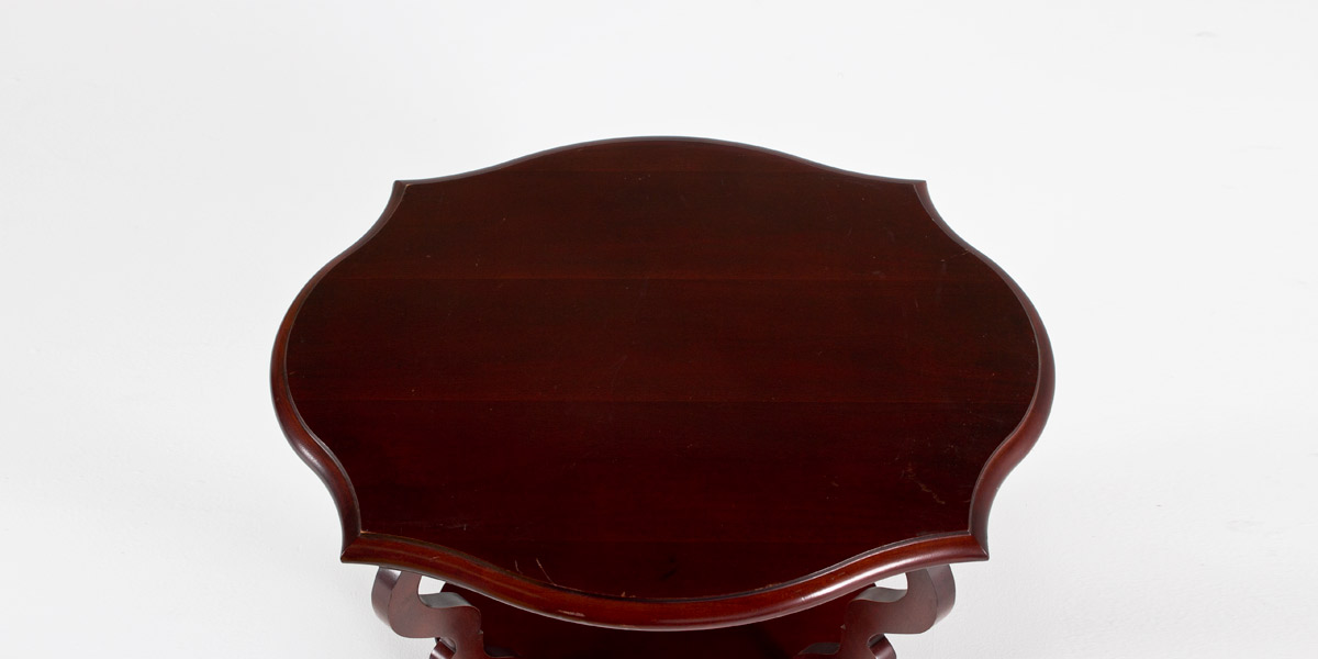 "24""w x 18""d Mahogany Side Table TBL009326"
