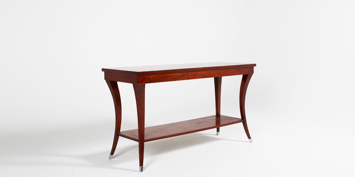 "50""w x 20""d Mahogany Console Table TBL011780"