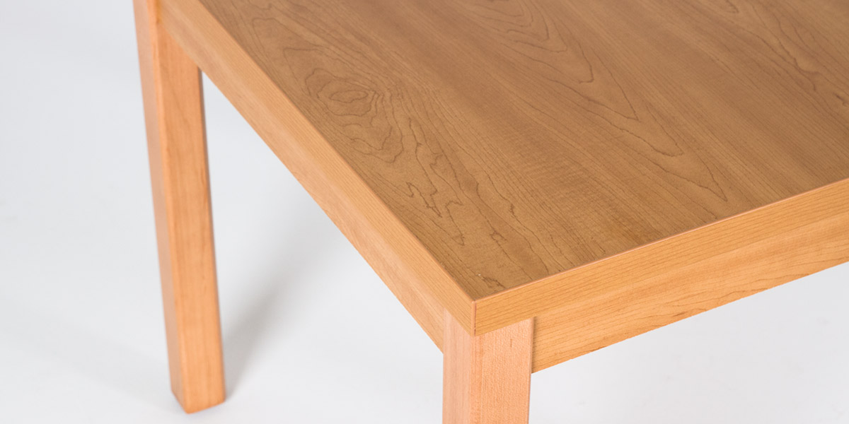 "24""w x 20""d Harvest Oak Laminate Side Table TBL013082"