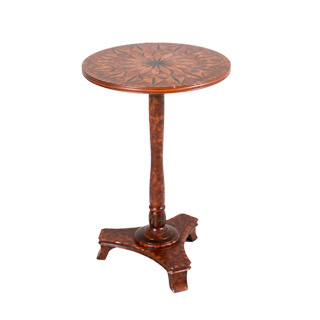 "16""dia Medium Cherry Side Table TBR009246"