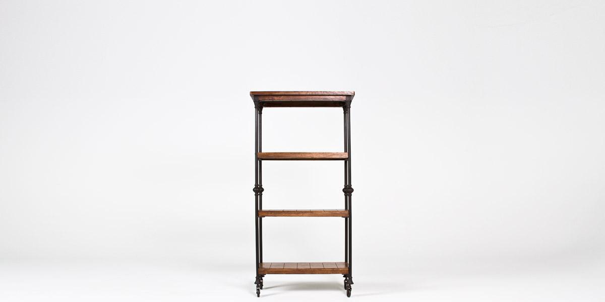 """32""""w x 62""""h Cast Iron Bookcase BKC012944"""