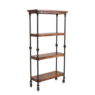"32""w x 62""h Cast Iron Bookcase BKC012944"