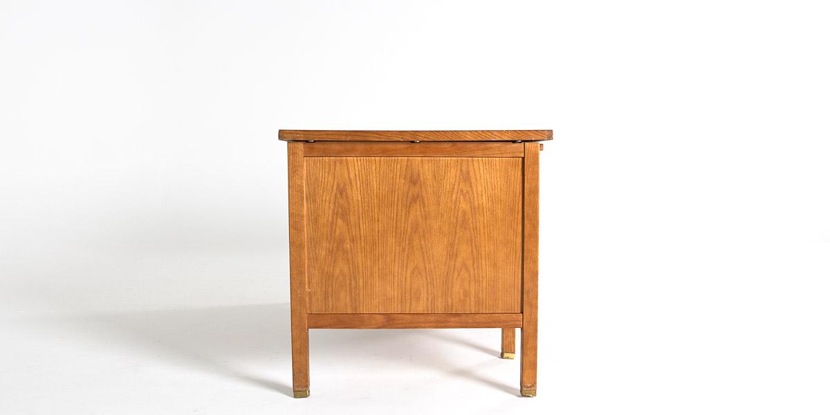 """60""""w x 30""""w Medium Oak Veneer Desk DSK004705"""