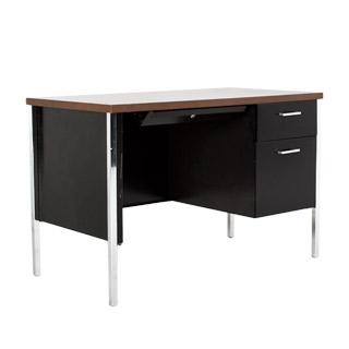 "45""w x 24""d Black Metal Desk DSK010684"