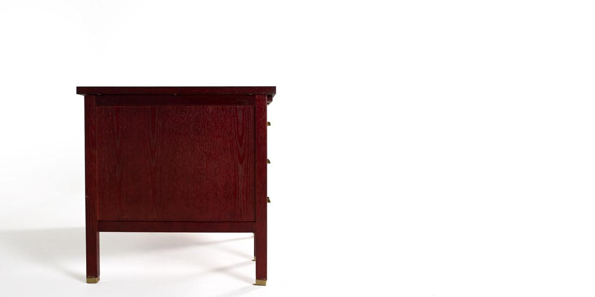 "60""w x 30""d Mahogany Desk DSK011716"