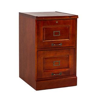 "19""w x 22""d Cherry Vertical File FIL011647"