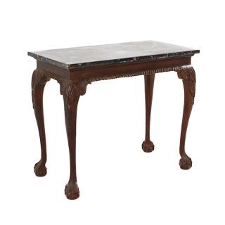 "37.5""w x 20""d Mahogany Console Table TBL001307"