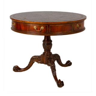 "36""w x 29""h Cherry Round Occasional Table TBL002358"