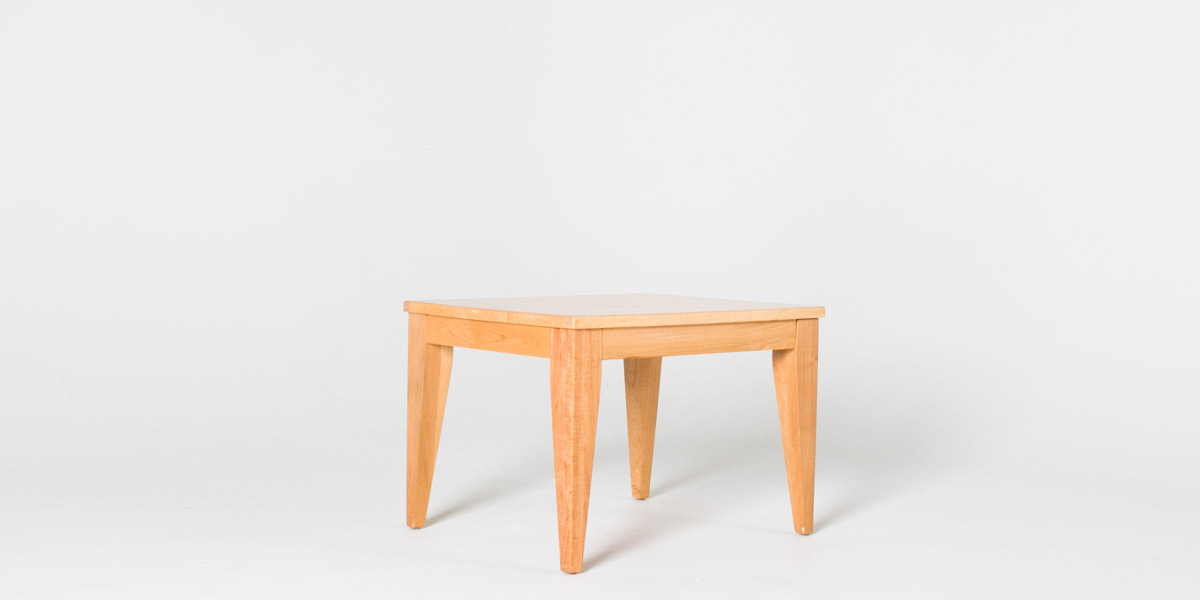"24""w x 28""d Pine Side Table TBL004698"