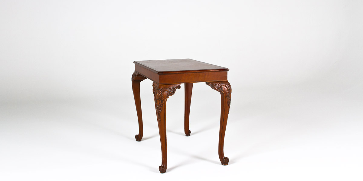 "19""w x 30""d Walnut Side Table TBL005185"