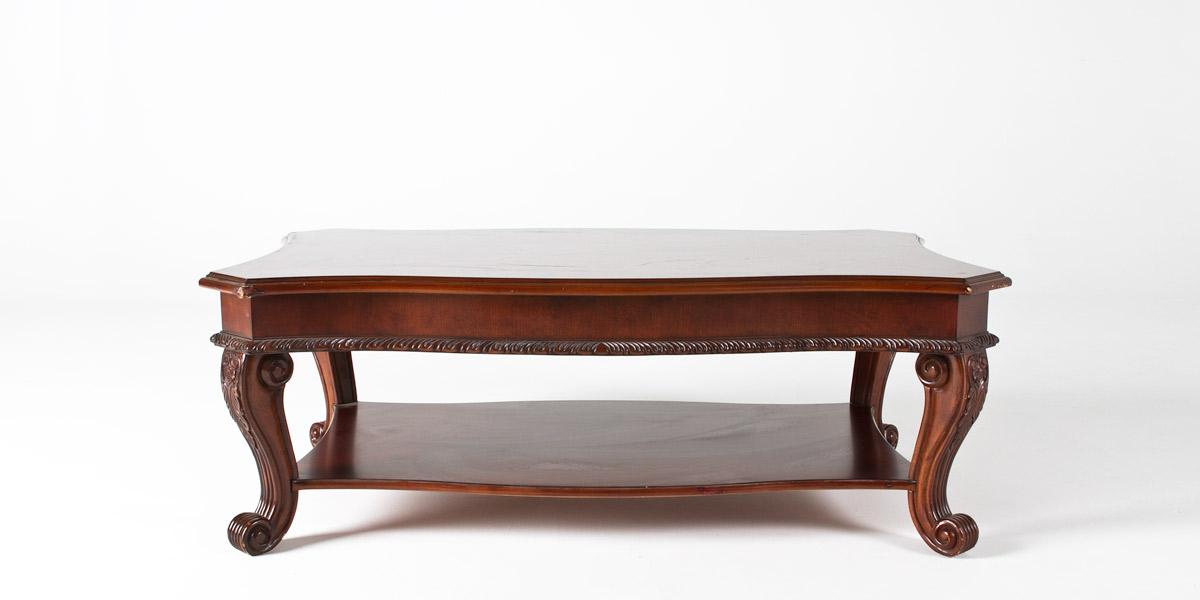 "54""w x 32""d Mahogany Coffee Table TBL006326"