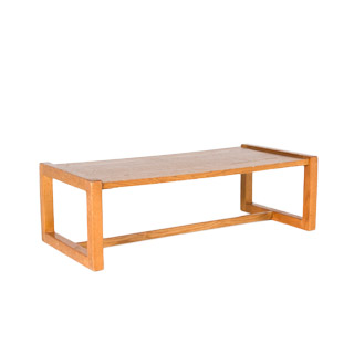 "52""w x 24""d Medium Oak Coffee Table TBL006840"