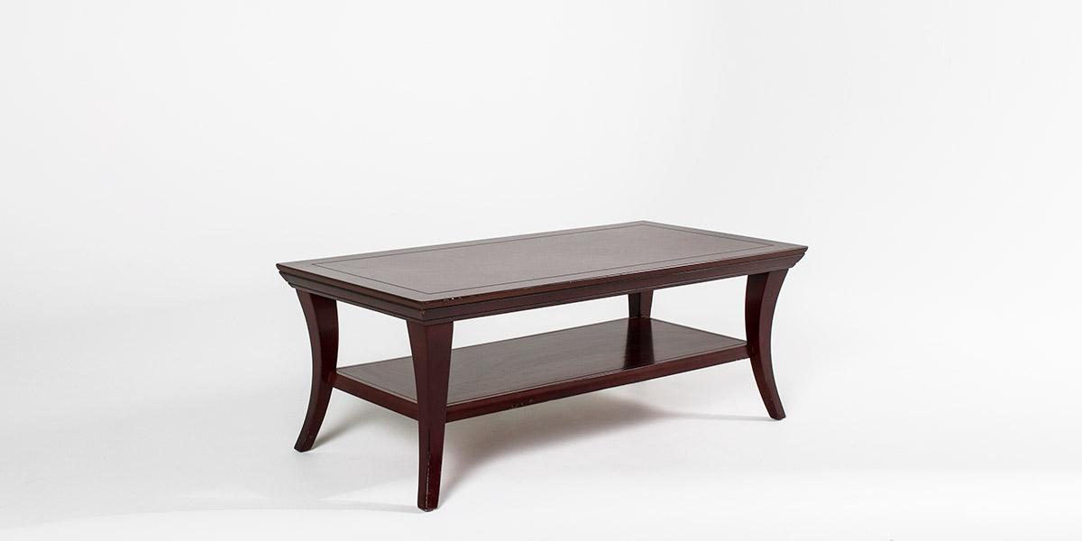 "47""w x 23""d Mahogany Coffee Table TBL006908"