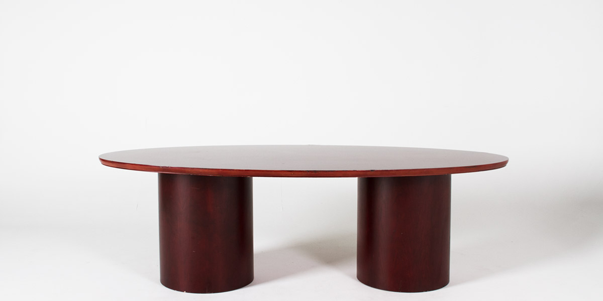 """96""""w x 47""""d Mahogany Conference Table TBL006917"""