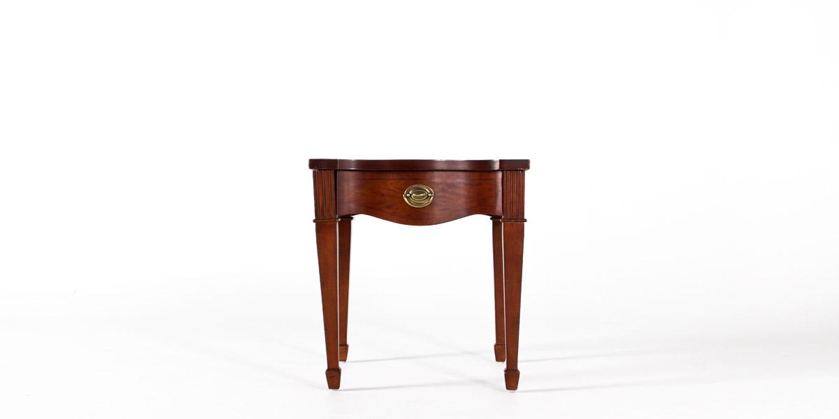 "23""w x 27""d Mahogany End Table TBL007543"
