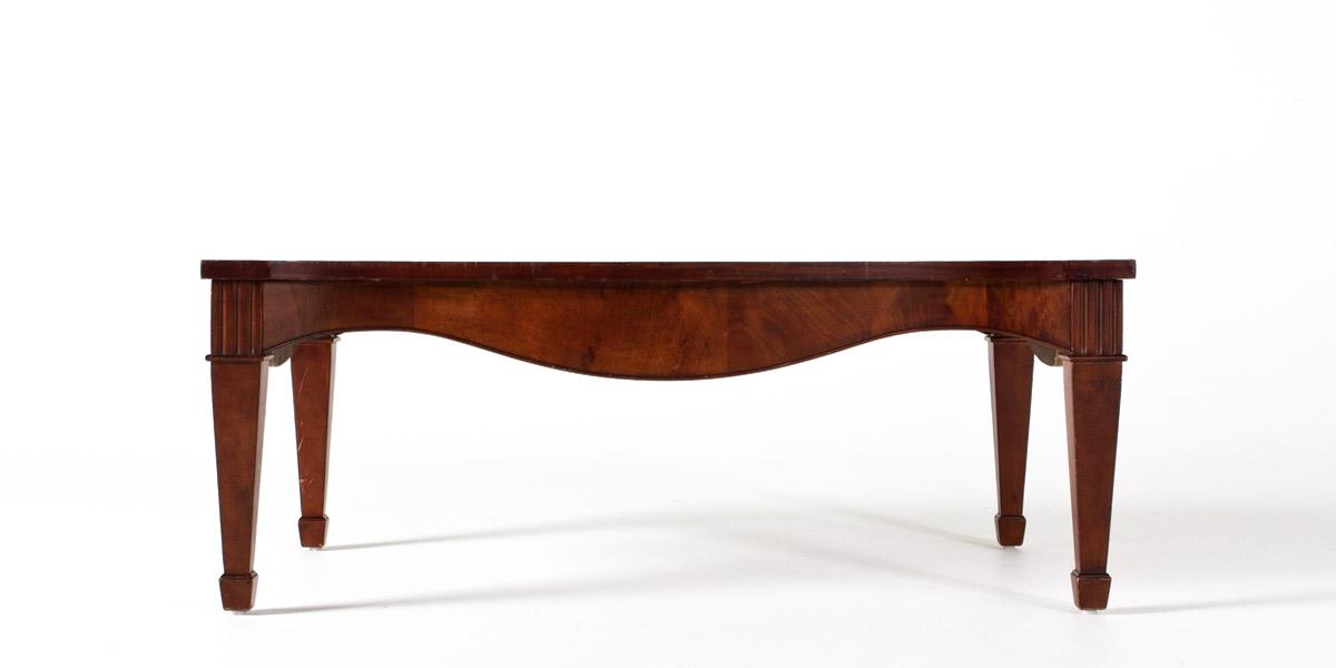 "50""w x 30""d Mahogany Coffee Table TBL007546"