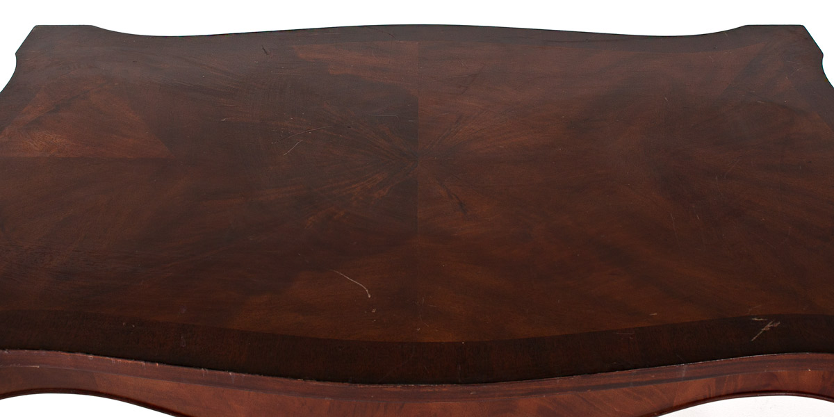 "50""w x 30""d Mahogany Coffee Table TBL007546"