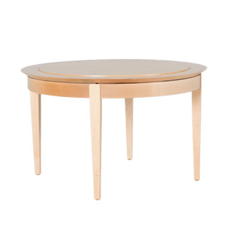 "32""dia Natural Round Coffee Table TBL007674"