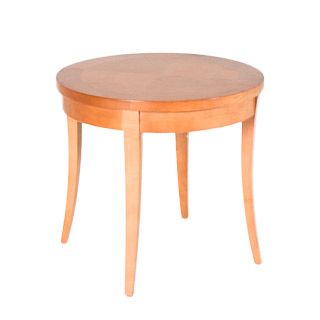 "21""dia Sandstone Round Side Table TBL007679"