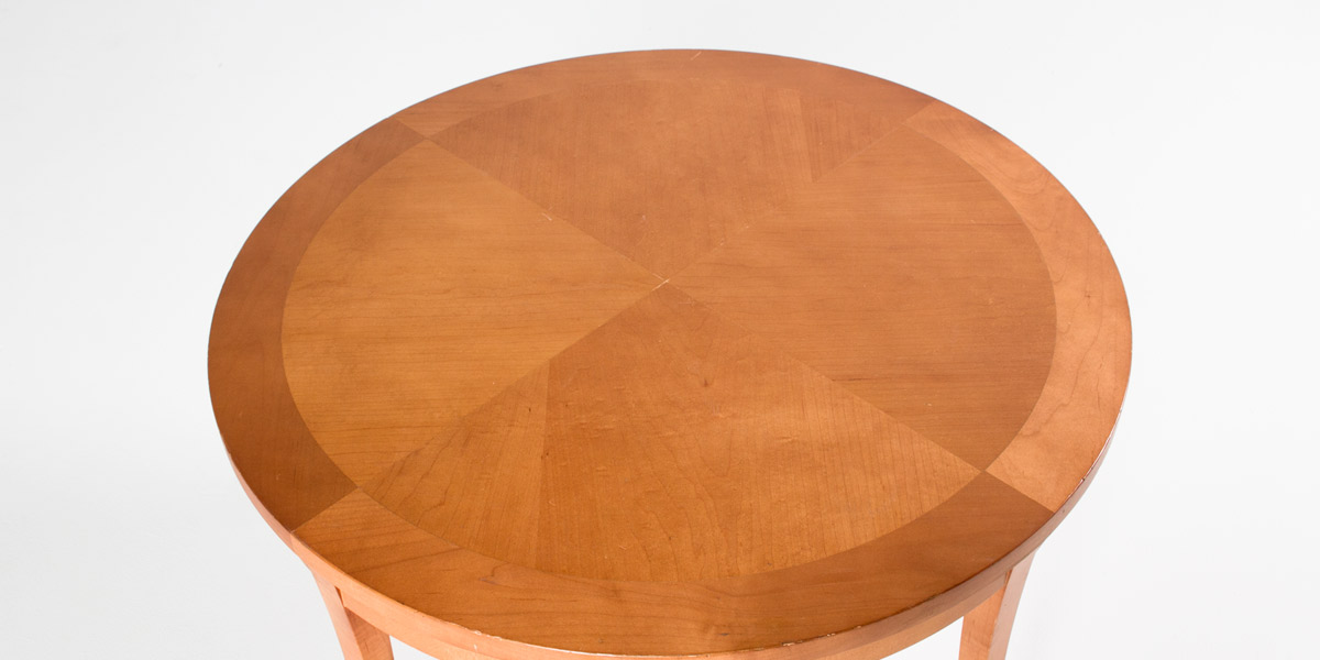 "32""dia Sandstone Round Coffee Table TBL007680"