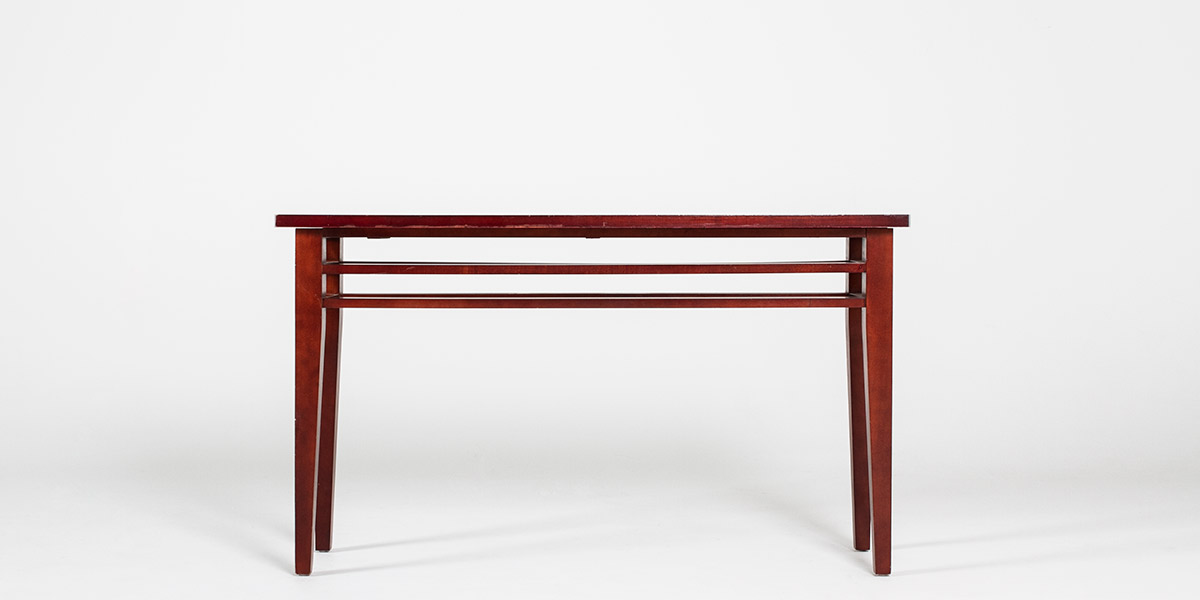 "52""w x 15.5""d Medium Cherry Console Table TBL008605"