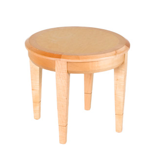 "21""dia Natural Round Side Table TBL009221"