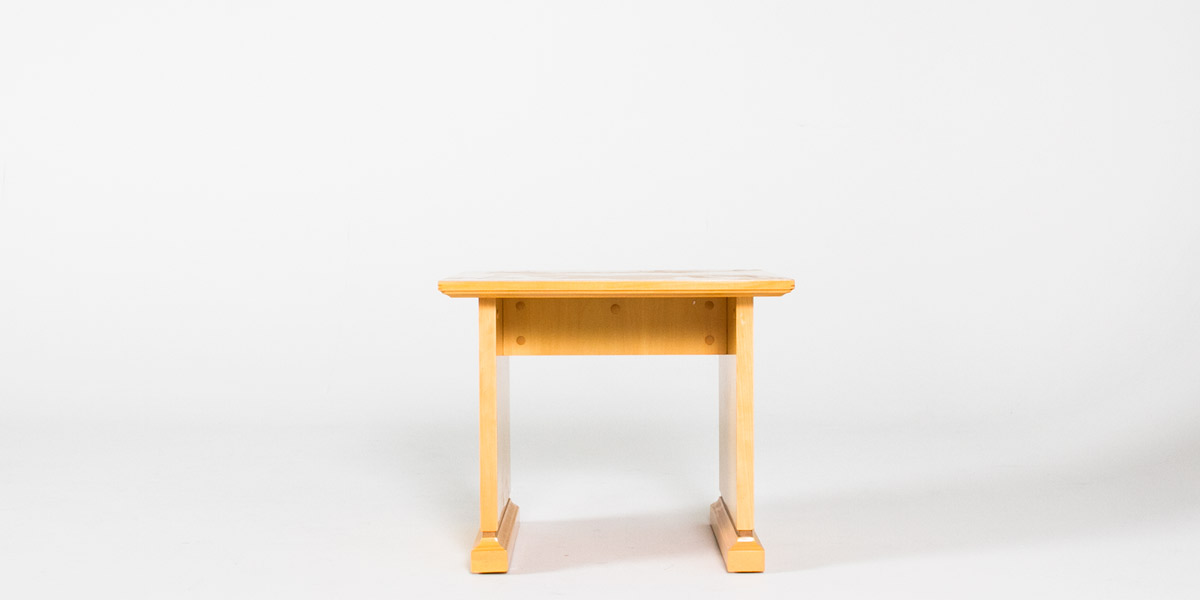 "24""w x 24""d Maple End Table TBL009231"