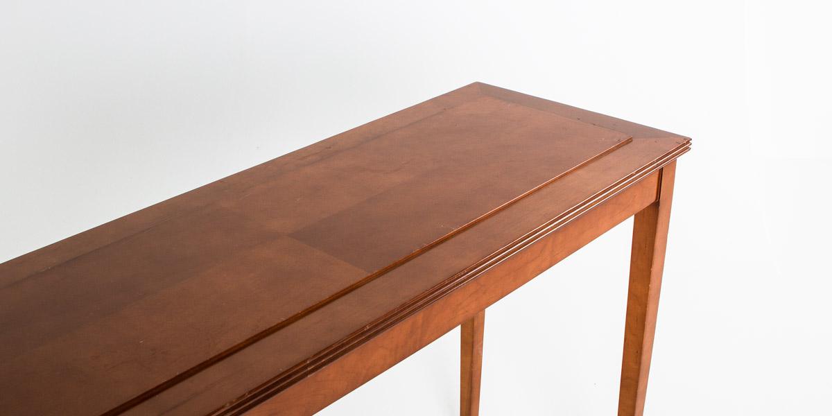 """48""""w x 16""""d Light Walnut Console Table TBL009232"""