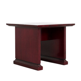 "24""w x 24""d Dark Mahogany End Table TBL009282"
