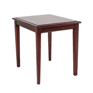 20″w x 24″d Mahogany Side Table TBL010315