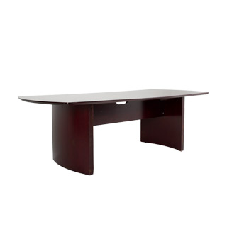 "96""w x 42""d Mahogany Veneer Conference Table TBL011164"