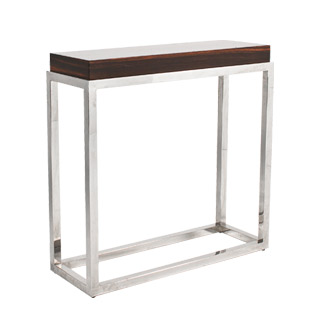 "39""w x 14""d Walnut Modern Console Table TBL011774"