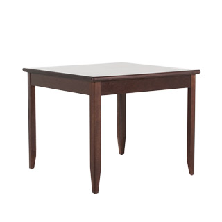 "30""w x 30""d Dark Cherry Side Table TBL012083"
