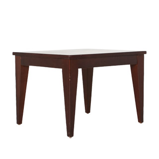 "28""w x 24""d Walnut Veneer Side Table TBL012105"