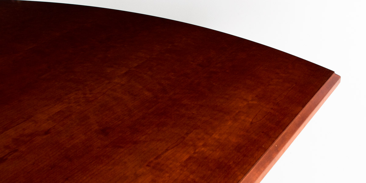 "120""w x 48""d Dark Cherry Conference Table TBL012136"