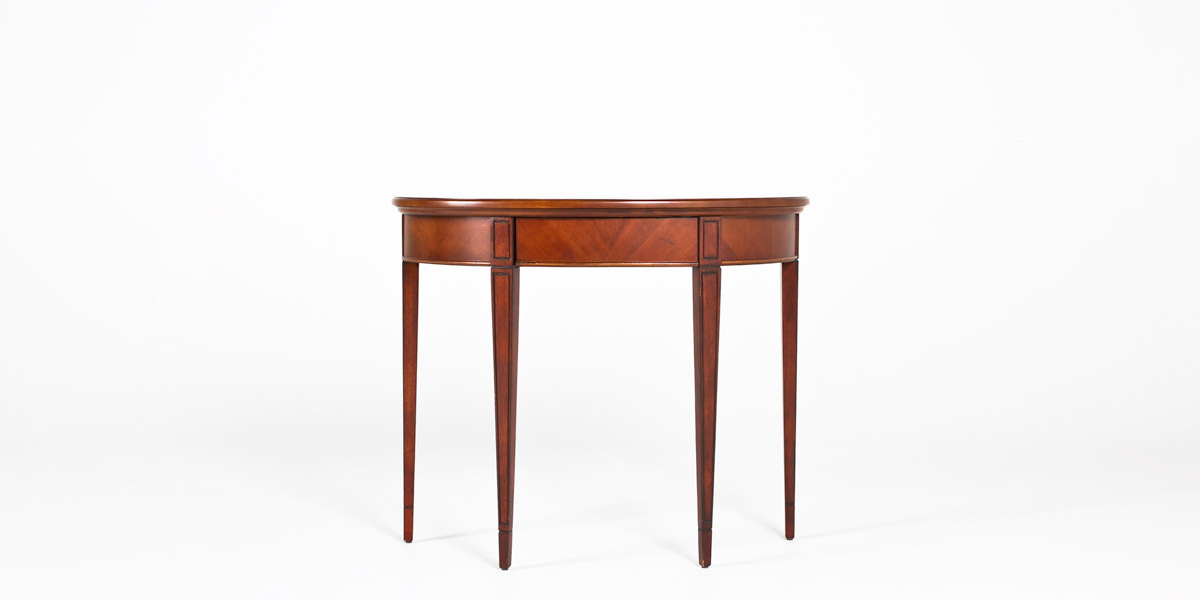 "36""w x 14""d Medium Cherry Console Table TBL012502"