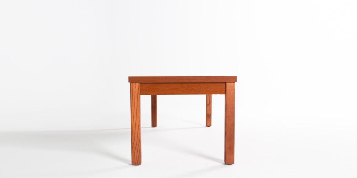 "48""w x 20""d Honey Oak Laminate Coffee Table TBL012881"