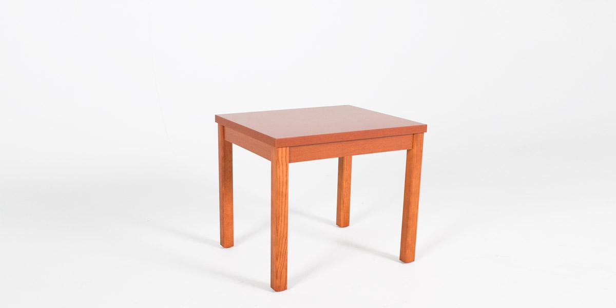 "24""w x 24""d Honey Oak Laminate Side Table TBL012882"