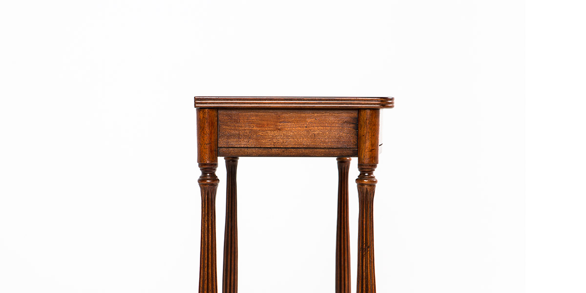 "44.5""w x 12.75""d Medium Cherry Console Table TBL012938"