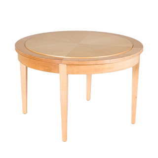 "31""dia Natural Round Coffee Table TBR008608"