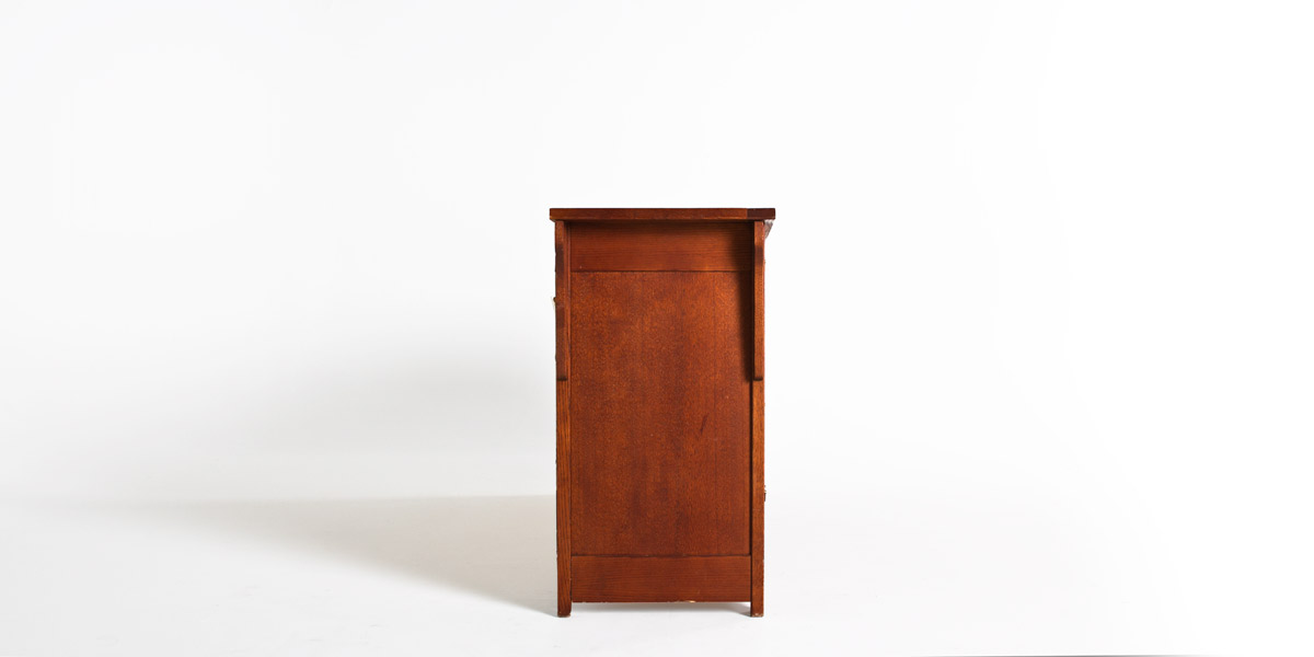 "67.5""w x 18""d Medium Cherry Mission Style Dresser BED001154"