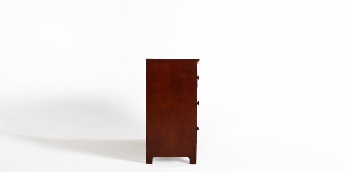 """48""""w x 17""""d Mahogany Dresser BED012626"""